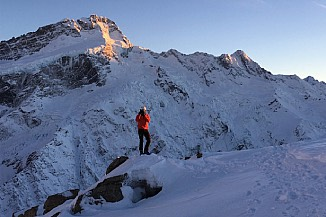 Sunrise on Mt. Sefton
